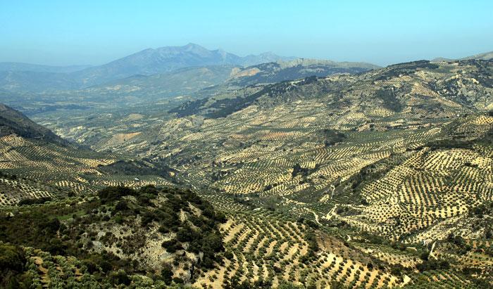 Panorámica Pegalajar, Serrezuela y Valle del Guadalbullón