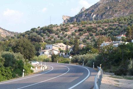 Carretera Cerradura - Oasis