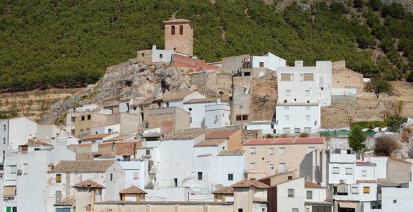 Vista General del Castillo de Pegalajar