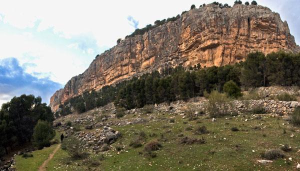 Vista General de la Peña de los Buitres
